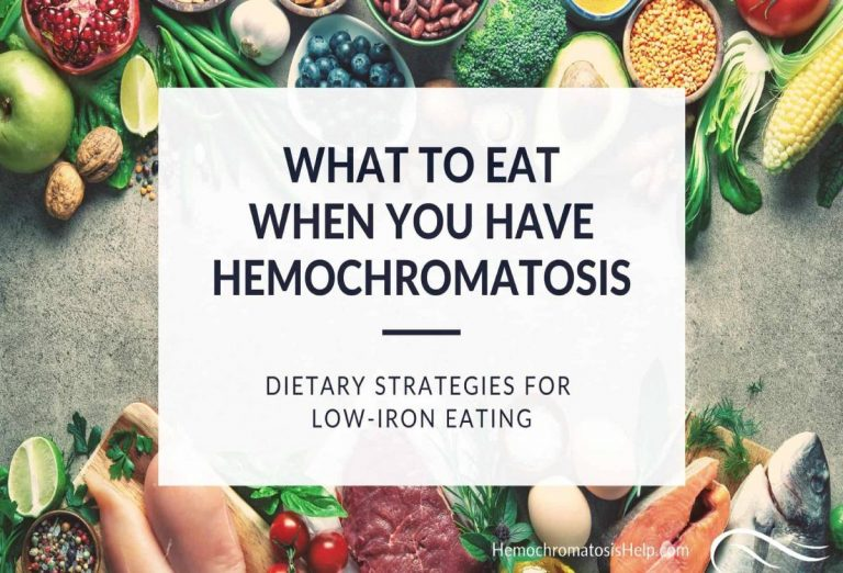 Hemochromatosis-Diet